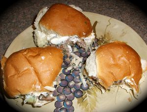 Lamb sliders 1